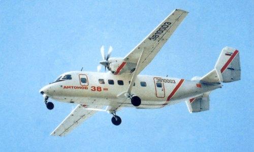 Ан-38- многоцелевой транспортный самолет, созданный в ОКБ Антонова.  Самолет по конструкции близок к созданному ранее...